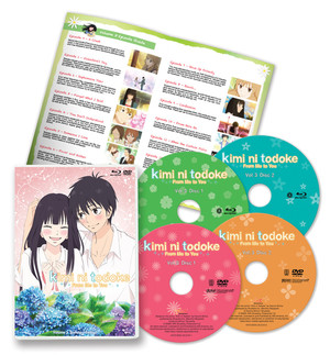 Kimi ni Todoke -From Me to You- Volume 3 Standard Edition (Blu-ray/DVD Combo)
