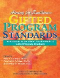 Aiming for Excellence: Annotations to the NAGC Pre-K-Grade 12 Gifted Program Standards