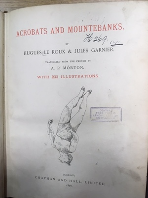 Acrobats and Mountebanks