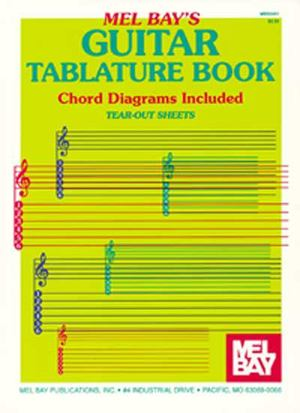 Guitar Tablature Book