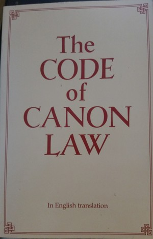 Code of Canon Law, in English Translation, The