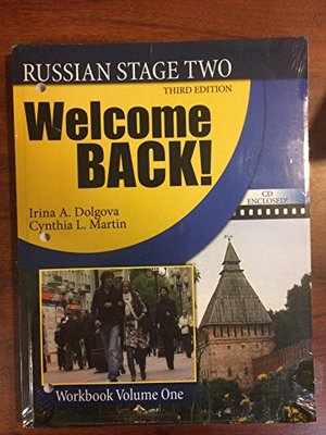 Welcome Back Russian Stage Two, Third Edition, Workbook