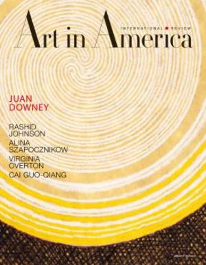 Art In America Magazine (April 2012) #4 , Juan Downey