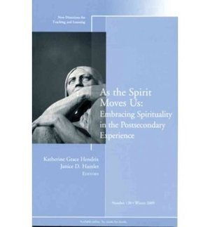 As the Spirit Moves Us (New Directions for Teaching & Learning) (Paperback) - Common