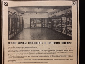 Antique Musical Instruments of Historical Interest