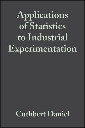 Applications of Statistics to Industrial Experimentation