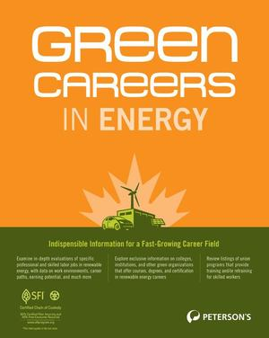 20 Green Jobs in Public Policy, Analysis, Advocacy, and Regulatory Affairs