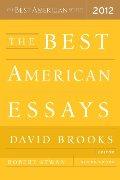 Best American Essays 2012 (The Best American Series (R)), The