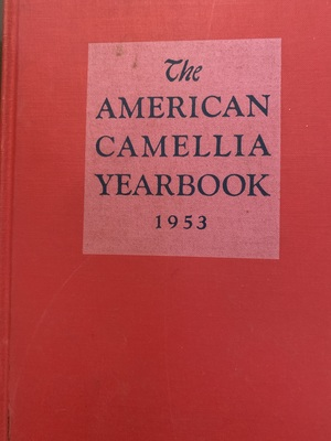 American Camellia Yearbook 1953