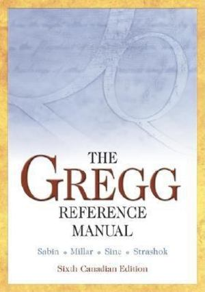 Gregg Reference Manual, The
