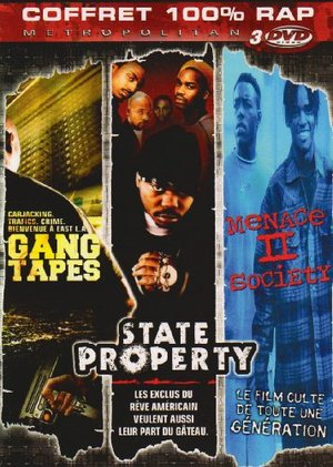 Coffret Rap : Menace II Society + Gang Tapes + State Property