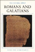 Navarre Bible: Romans and Galatians (The Navarre Bible: New Testament), The
