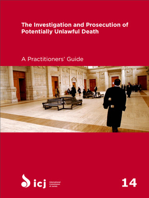 investigation and prosecution of potentially unlawful death, The