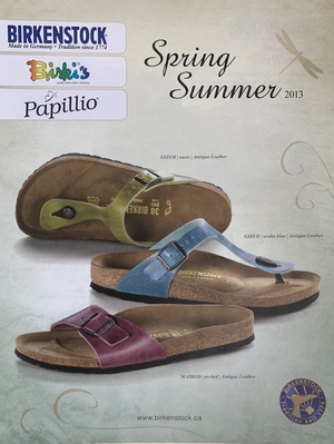 Birkenstock Catalogue Spring/Summer 2013