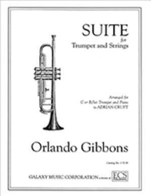 GIBBONS, O.: Suite for Trumpet and Strings