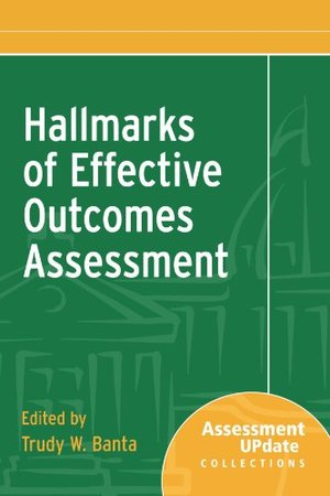 Hallmarks of Effective Outcomes Assessment : Assessment Update Collections