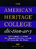 American Heritage College Dictionary, The