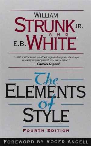 Elements of Style (4th Edition), The