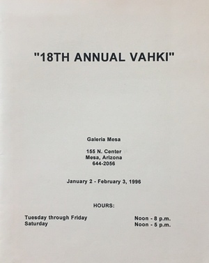 18th annual Vahki