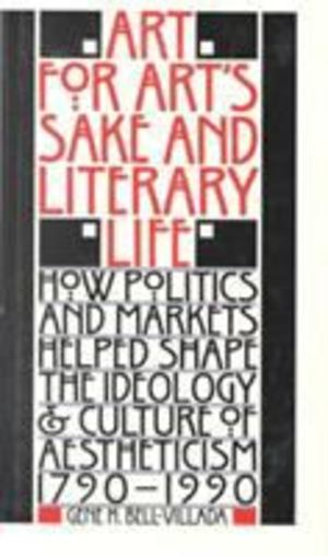 Art for Art's Sake and Literary Life