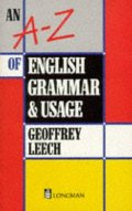 A-Z of English grammar and usage (1st Edition), An