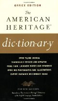 American Heritage Dictionaries, 4th Edition, OFFICE Edition, The