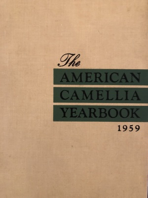 American Camellia Yearbook 1959