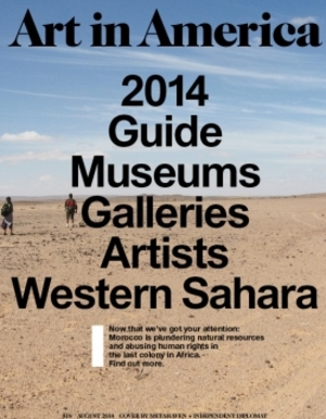 Art In America Magazine (August 2014) 2014 GUIDE GALLERIES ARTISTS
