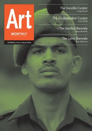 Art Monthly 291: November 2005
