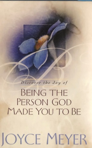Being the person God Made you to be T