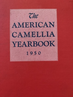 American Camellia Yearbook 1950