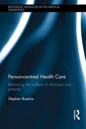 Buetow, S  Person-Centred Health Care