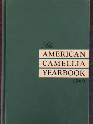 American Camellia Yearbook 1960