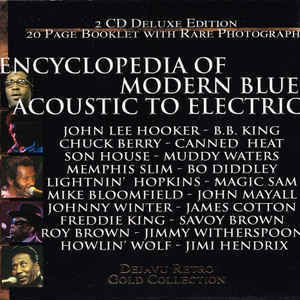 Encyclopedia of Modern Blues Acoustic To Electric