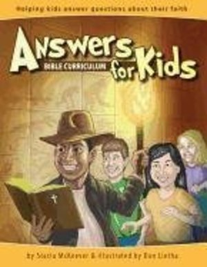 Answers Bible Curriculum for Kids [With CD (Audio) and DVD ROM]