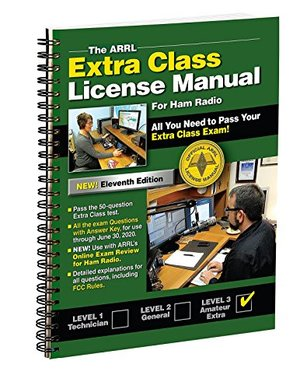 ARRL Extra Class License Manual Spiral 11th Edition, The