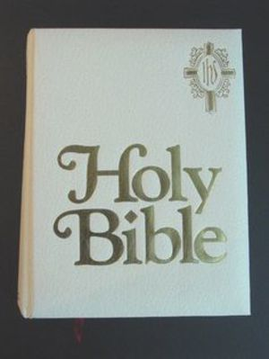 Holy Bible: New American Bible, The