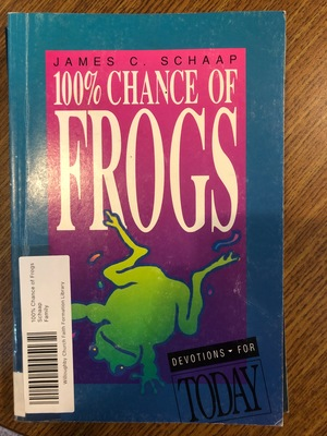 100% Chance of Frogs