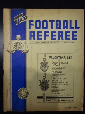 Football Referee - 1938-04 - April, The