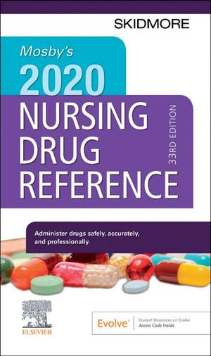 Mosby's 2020 Nursing Drug Reference E-Book