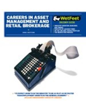 Careers in Asset Management and Retail Brokerage  27604