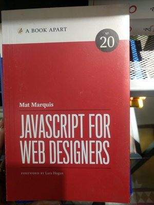Book Apart - Javascript for Web Designers (No.20), A