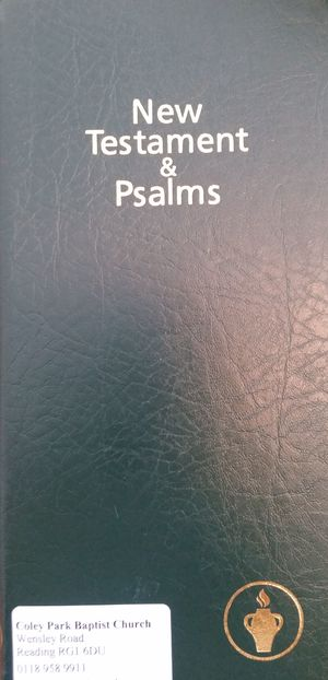 New Testament and Psalms (NIV)