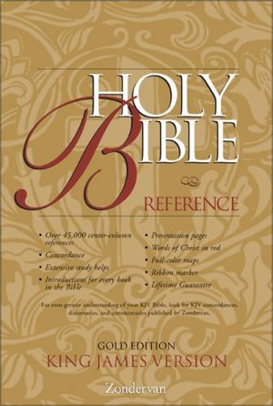 KJV Holy Bible Reference, Gold Edition