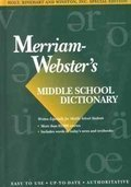 Holt McDougal Library: Merriam-Webster's Dictionary Grades 6-8 1996