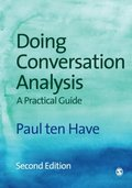 Doing Conversation Analysis (Introducing Qualitative Methods series)