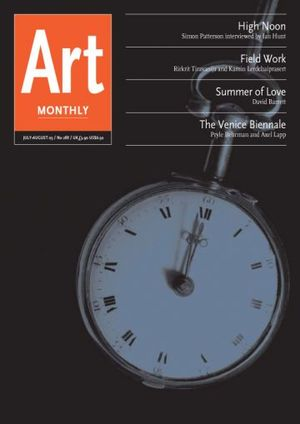 Art Monthly 288: Jul-Aug 2005