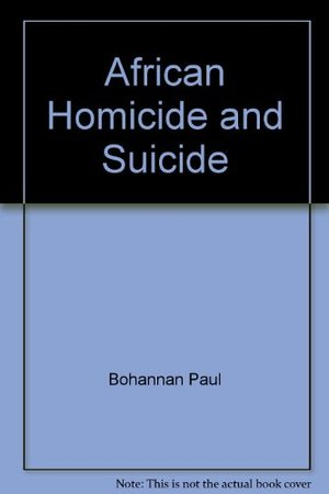 African Homicide and Suicide