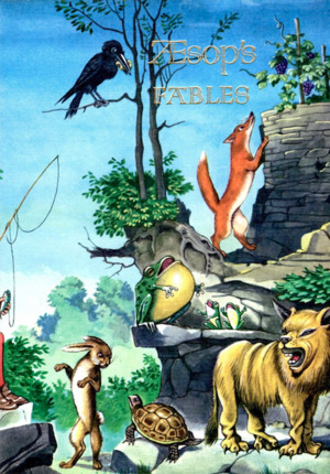 Aesops Fables (Illustrated Junior Library)