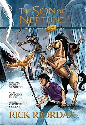 Heroes of Olympus, Book Two, The Son of Neptune: The Graphic Novel, The
